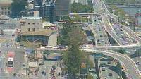Brisbane City: Riverside Expressway - Mercure Hotel (looking South East) - Day time