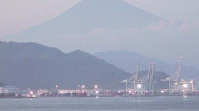 Webcam 清水: Mt. Fuji live view