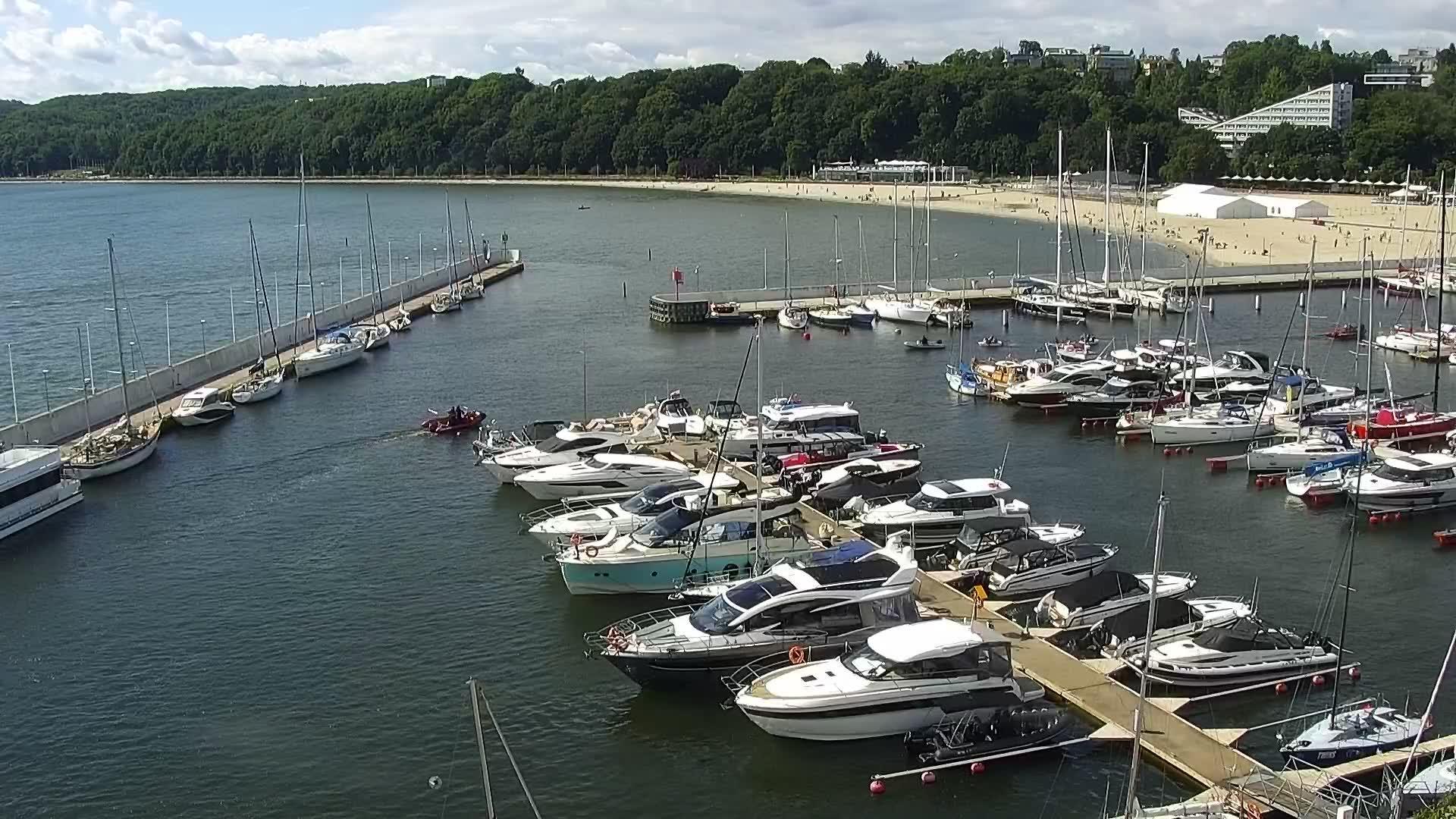 Webcam Gdynia: Marina
