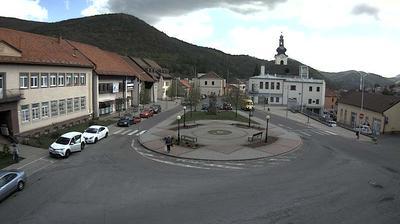 Webkamera Nová Baňa: námestie