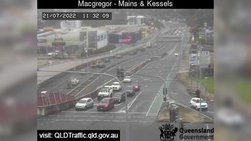 Webcam Macgregor: Mains Road and Kessels Road (North)