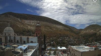 Daylight webcam view from Real de Catorce