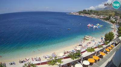 Daylight webcam view from Podgora: panorama