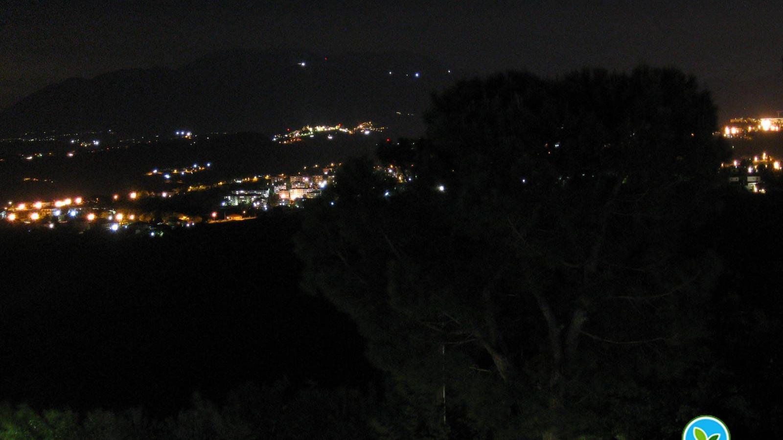 Webkamera Torrevecchia Teatina: Panorama a Sud con sfondo su
