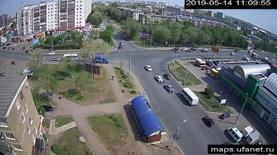 Webkamera Староковыльный: перекресток ул. Восточная − ул.Кар