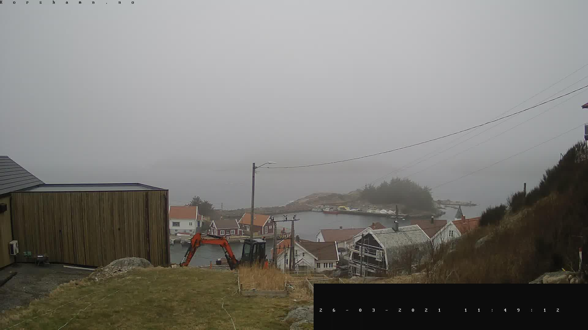 Webcam Korshavn: Korshamn − Live