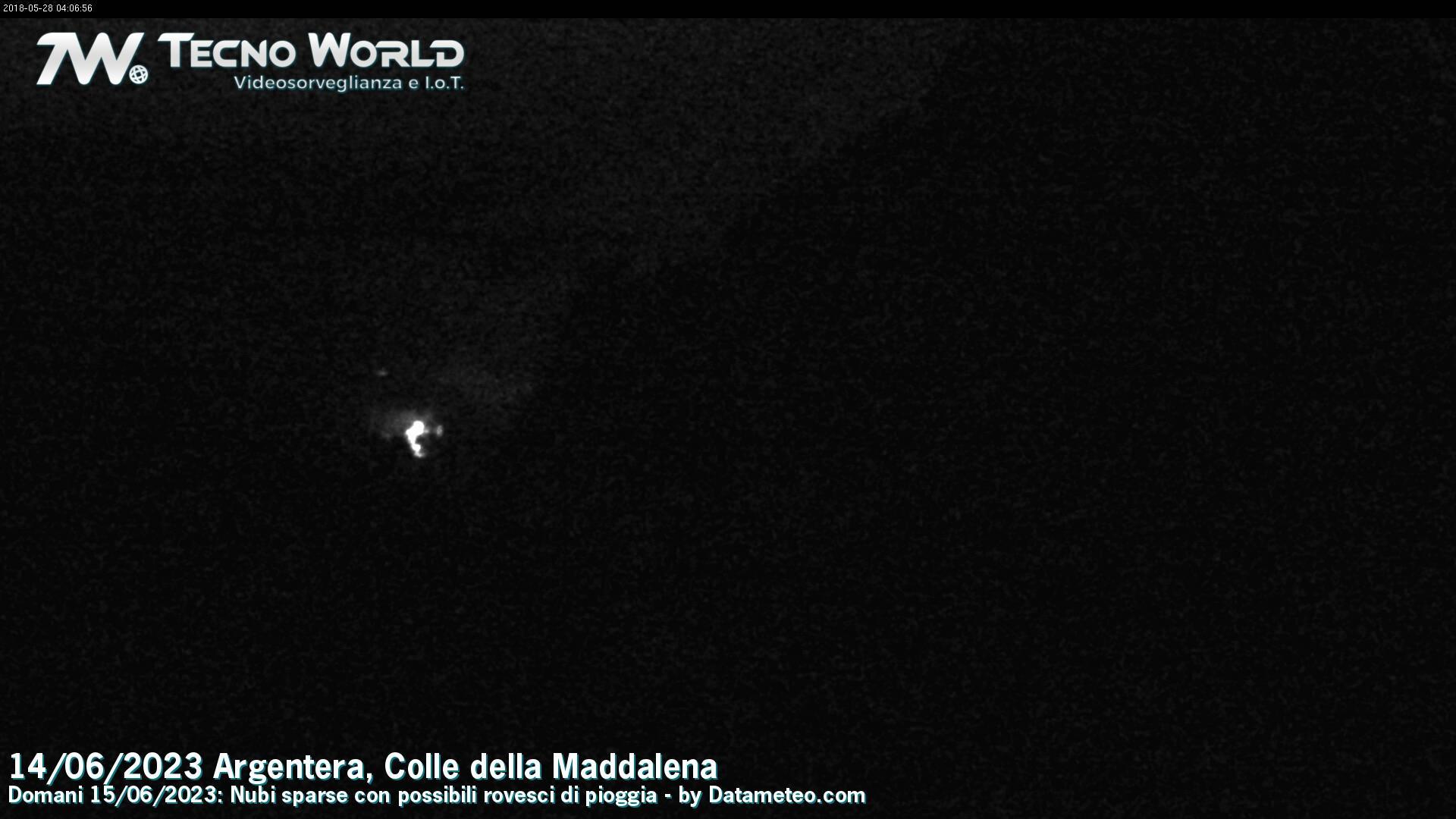 Webcam Bersezio: Argentera e Colle maddalena