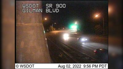 Current or last view from Issaquah: Gilman Blvd