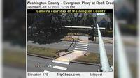 Cornelius: Washington County - Evergreen Pkwy at Rock Creek Trail - Day time