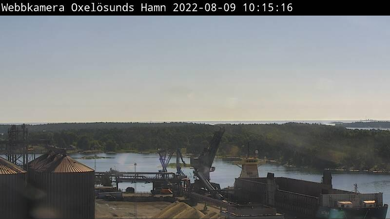 Webcam Oxelösunds Hamn