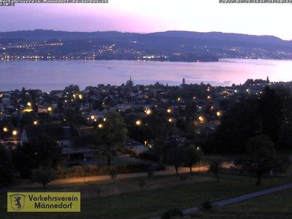 Männedorf › Süd-West: Allenbergstrasse - Männedorf, Spital - Bahnhof - Wädenswil - Au peninsula - Zürichsee - Zimmerberg - Uetliberg