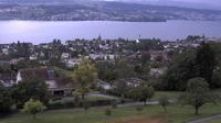 Mannedorf > South-West: Allenbergstrasse - M�nnedorf, Spital - Bahnhof - W�denswil - Au peninsula - Lake Zurich - Zimmerberg - Uetliberg - Overdag