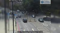 London: A Finchley Rd/Queen Grove - Day time