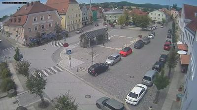Daylight webcam view from Hengersberg › North West: Marktplatz