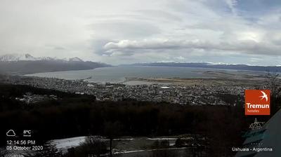 Ushuaia webcam Dags-billede