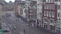 Amsterdam: Damrak _ Beursplein - Overdag