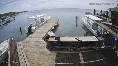 Vue webcam de jour à partir de Sandy Bay: Roatan Divers