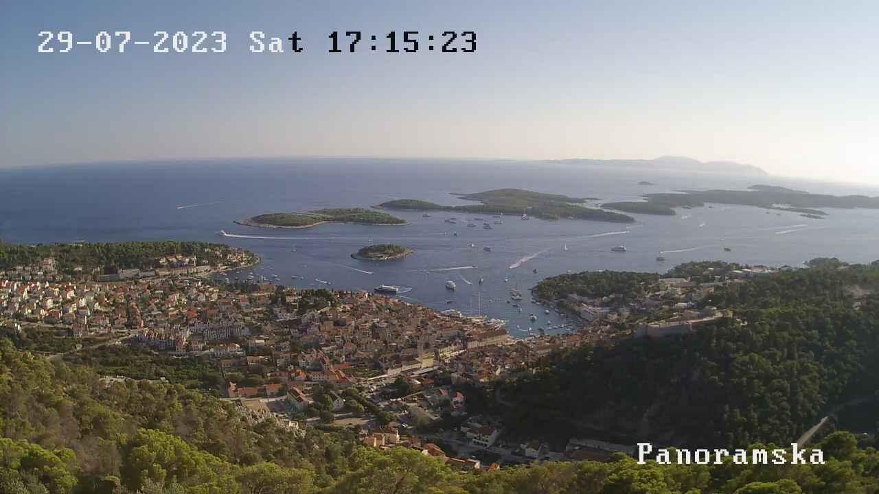 Веб-камера Хвар (Хорватия)