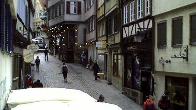 Daylight webcam view from Tübingen: Marktgasse