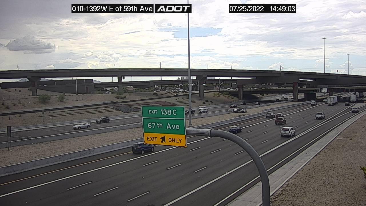 Webcam La Terraza: I-10W and 59th Ave