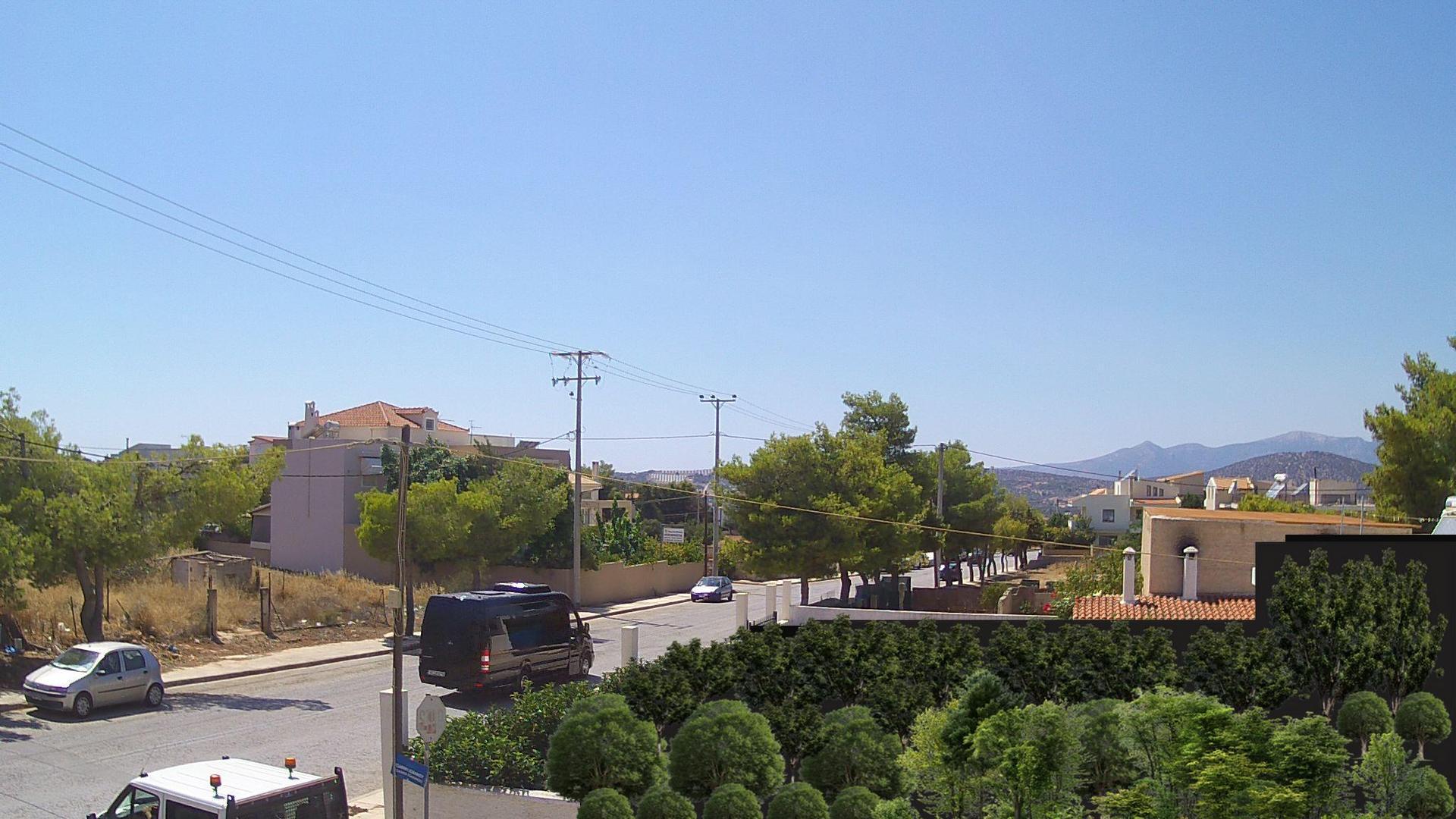 Webkamera Καλύβια Θορικού: Kalyvia Thorikou − Ymittos