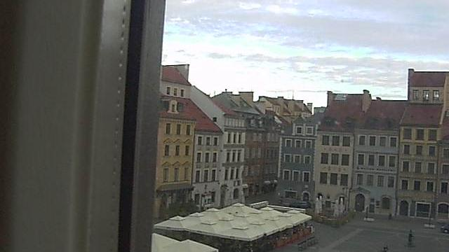 Webcam Warsaw: Old Town Market Place