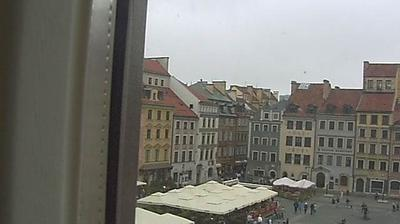 Daylight webcam view from Warsaw: Old Town Market Place
