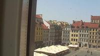 Warsaw: Old Town Market Place - Day time