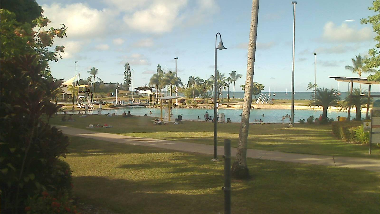 Webcam Airlie Beach: Beachworx − Lagoon cam