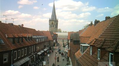 Ahaus: Blick in die Ahauser Fußgängerzone