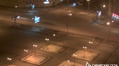 Webcam Novosibirsk: Перекресток улиц Восход и Кирова