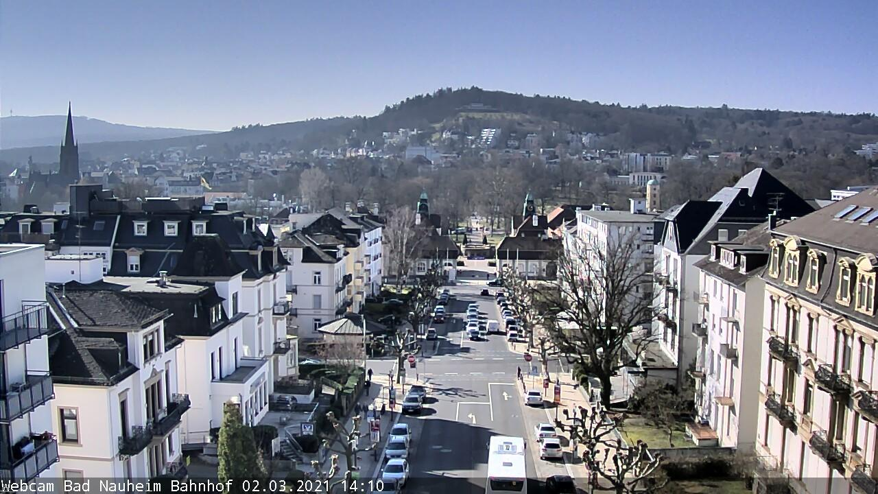 Webcam Bad Nauheim: Bad-Nauheim − Bahnhofsallee