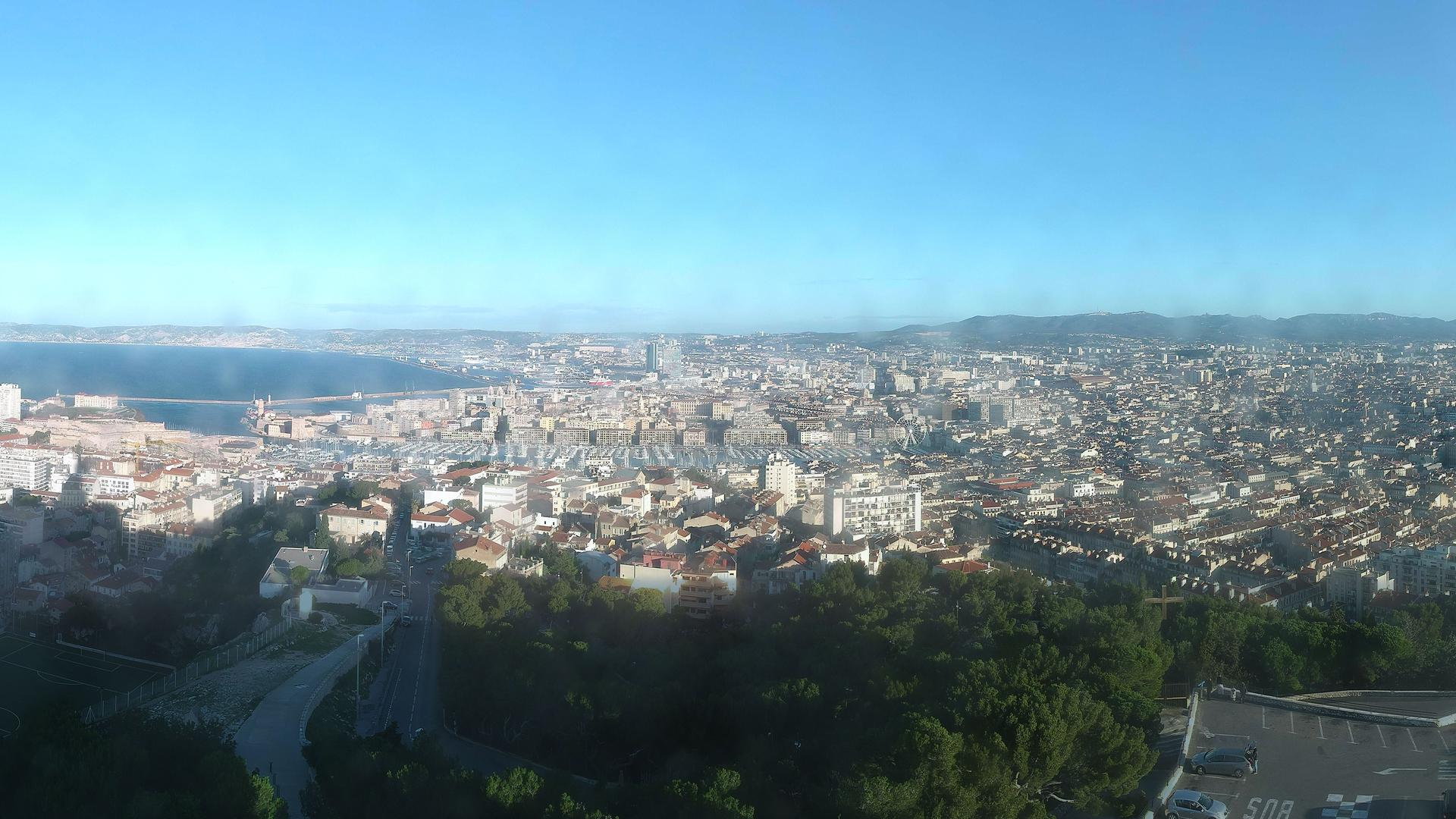 Webcam Marseille 07: Marseille-Panoramique HD