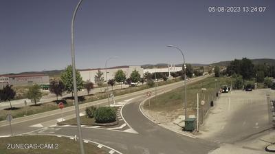 Daylight webcam view from Medina de Pomar: Webcam E.S. ZUÑEGAS S.L. II