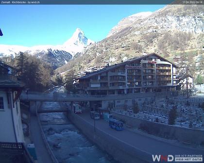 Zermatt: Zermatt, Kirchbrücke