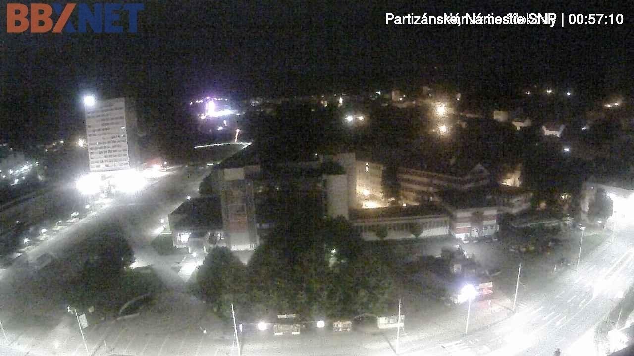 Webkamera Banská Bystrica › North: Námestie SNP