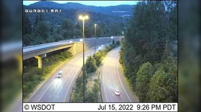Current or last view from Issaquah: I 90: Sunset Way
