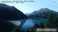 Mayrhofen: Schlegeis Stausee - Zillertaler Alpen - Blick nach S�den - Aktuell
