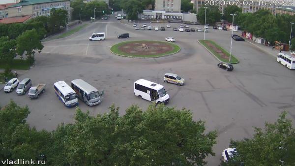 Webkamera Ussuriysk: Вокзальная Площадь