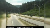 Fraser Valley Regional District > East: , Hwy , southbound at Zopkios Rest Area, near the Coquihalla Summit, looking northeast - Dagtid