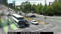 Saanich > North: , Hwy  southbound (Blanshard St) at - Rd, looking north - Overdag