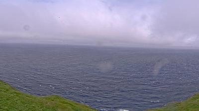 Daylight webcam view from Mykines › North: Mykines Hólmur Lighthouse