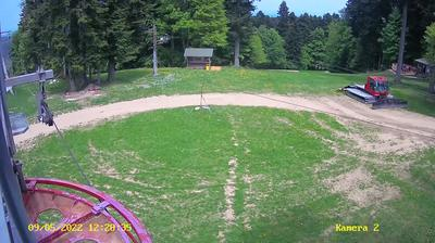 Current or last view from Kozarac: Kozara SKI Resort
