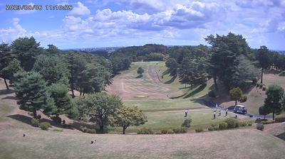 Vue webcam de jour à partir de Ome: Oume Golf Club