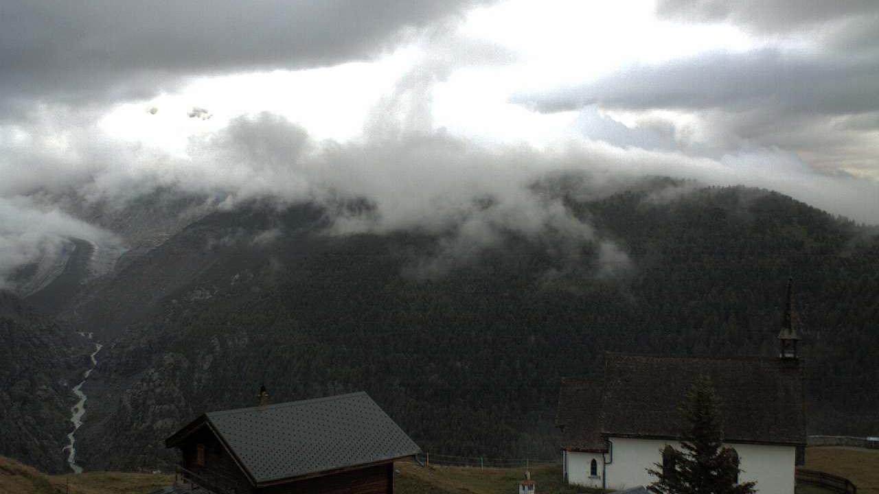 Webcam Egga: Belalp Aletschbord auf den grossen Aletschgl