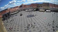Sibiu: Piata Mare webcam - Overdag