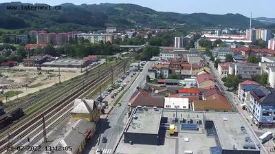 Vista de cámara web de luz diurna desde Vsetín