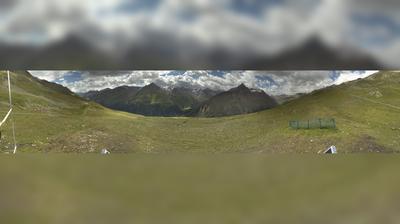 Vue webcam de jour à partir de Vent: Venter Seibahn