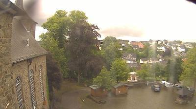 Tageslicht webcam ansicht von Hückeswagen › South West: Schlossplatz