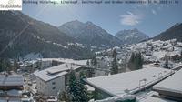 Dernière vue de jour à partir de Hirschegg: Kleinwalsertal Hotel Birkenhöhe